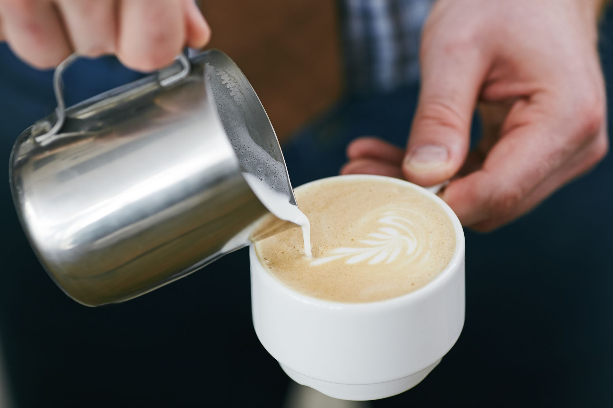 Invite your clients to a meeting over coffee.